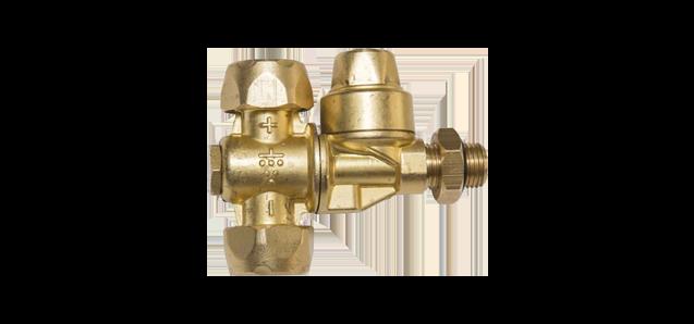 Standard double nozzle